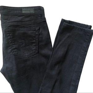 AG Jeans The Legging Super Skinny Black - Size 28
